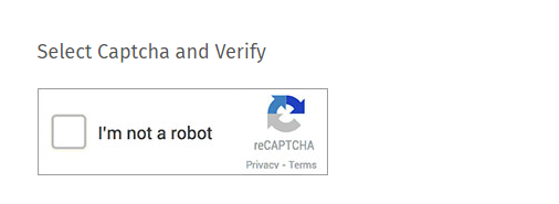 Captcha survey question