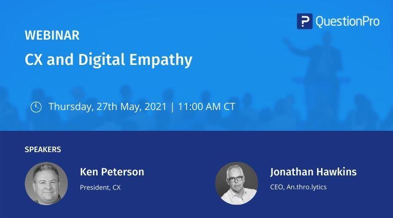 CX and Digital Empathy