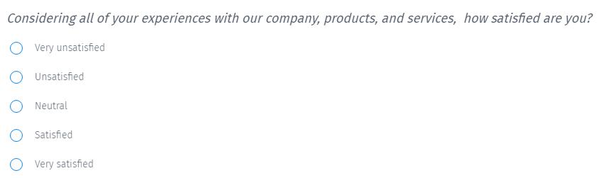 Customer-satisfaction-question