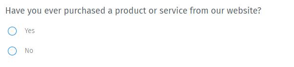 Survey Questions - Dichotomous