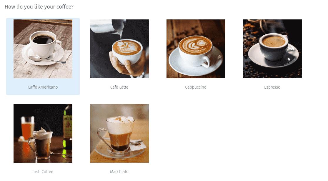 Survey Questions - Image Chooser Type Survey Question