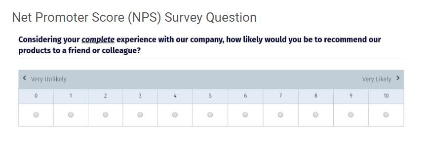 NPS-question
