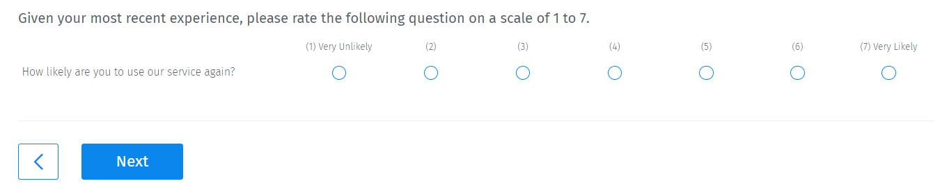 Non-slider-rating-semantic-differential-scale
