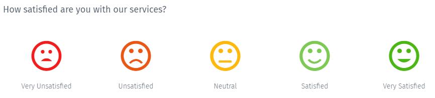 Smiley-customer-satisfaction-question
