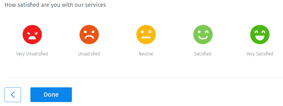 Smiley-rating-semantic-differential-scale