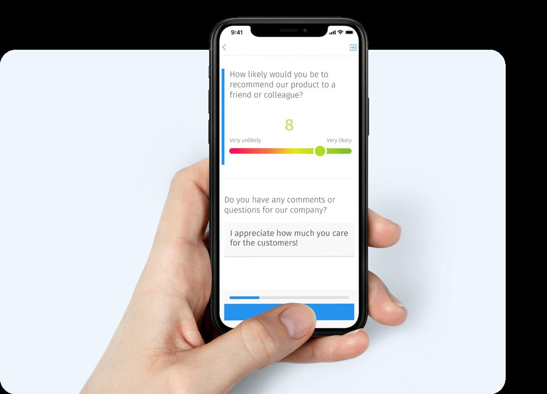 pesquisa de satisfação por celular